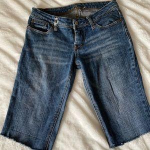 7 of all mankind dojo capri pants